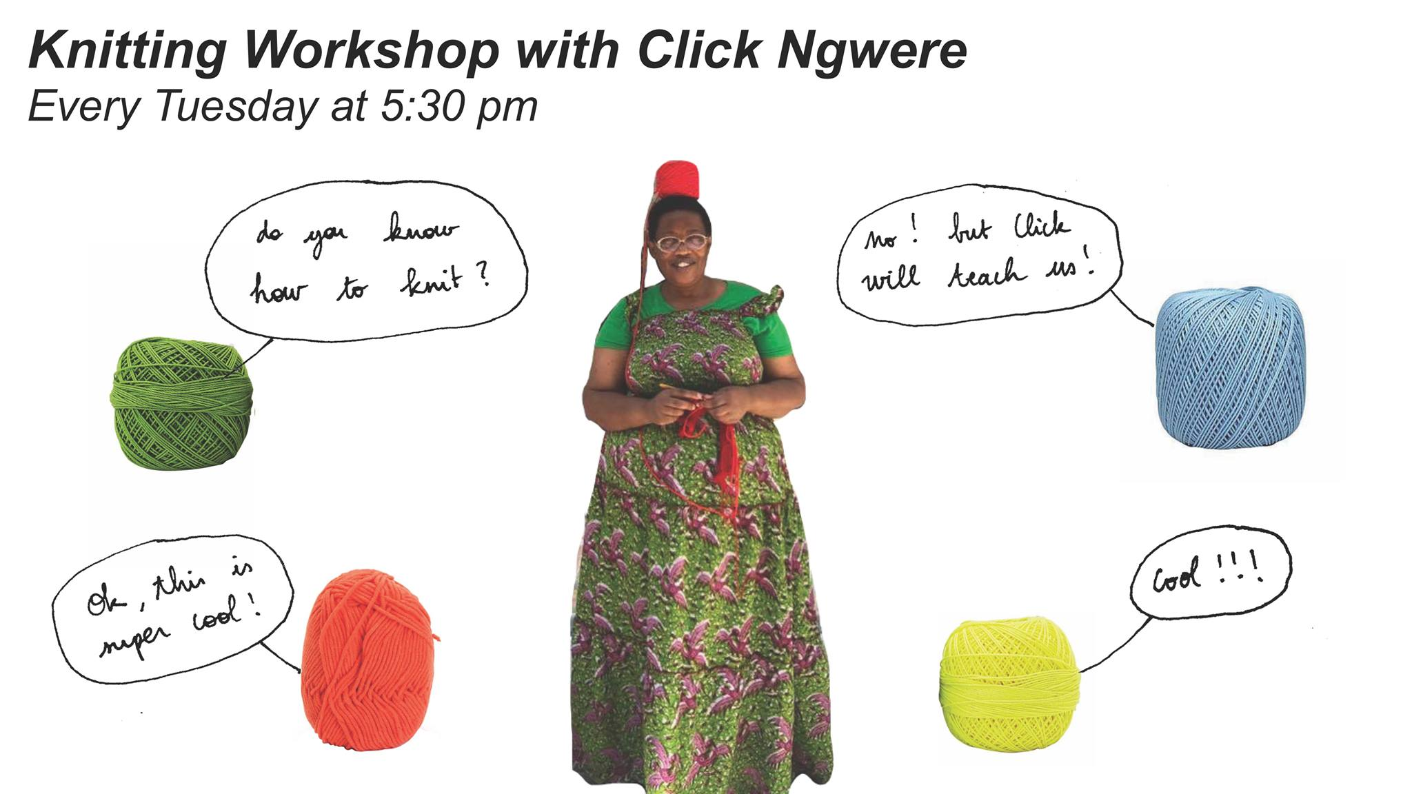 Knitting Workshop with Click Ngwere