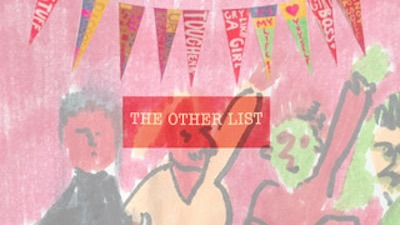 The Other List // Art Project with Sonia Zymantas