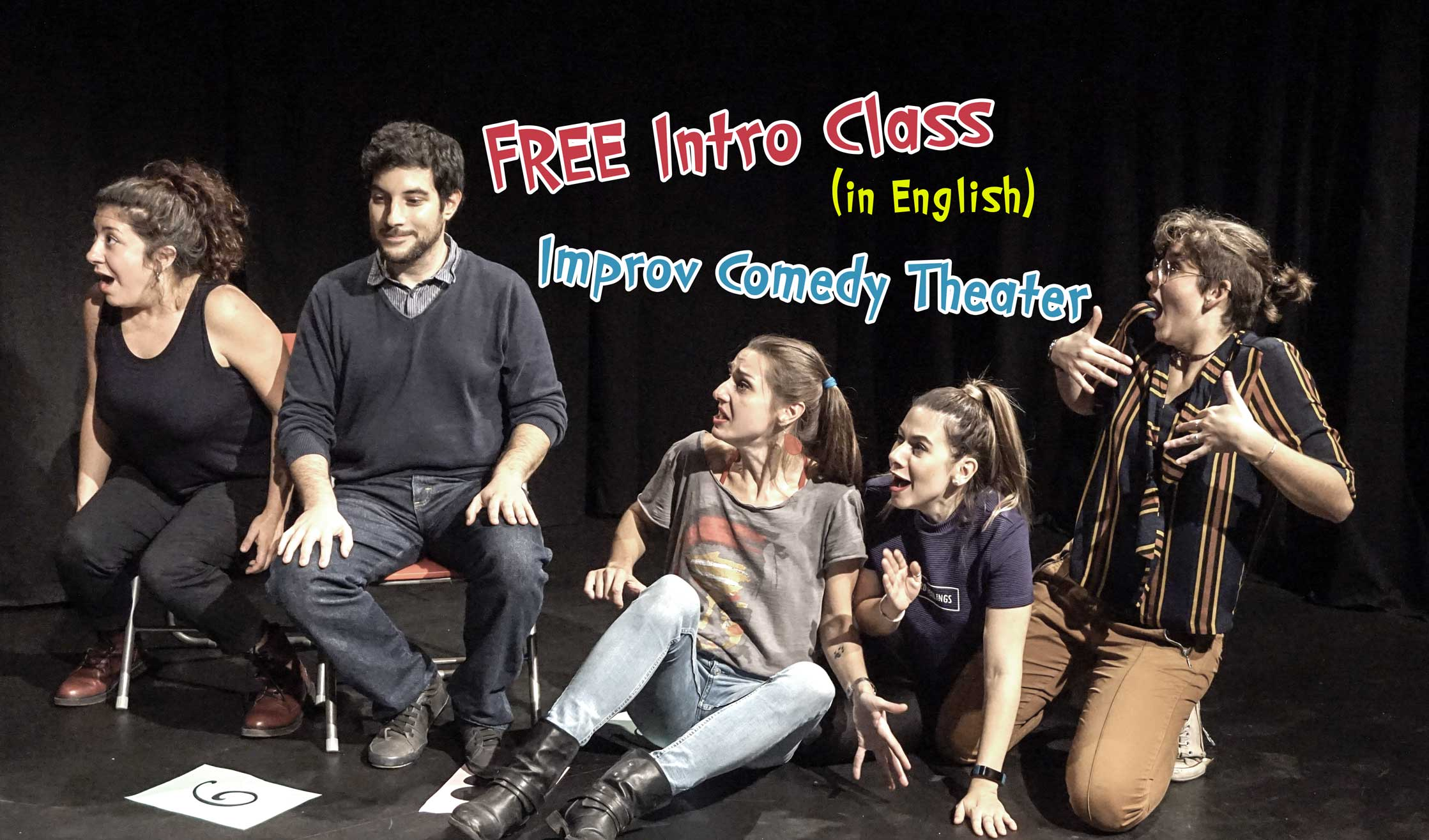 Free Introductory Improv Comedy Theater Class (In English)